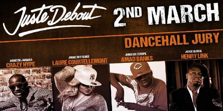 Dancehall @ Juste Debout 2014