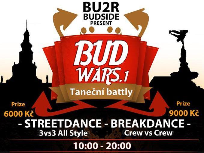BudSide vás zvou na Bud Wars do Českých Budějovic