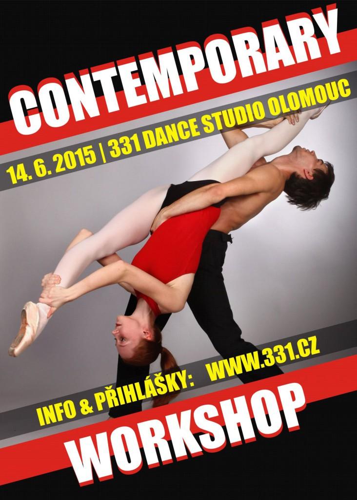 Contemporary Workshop v 331 Dance Studiu Olomouc
