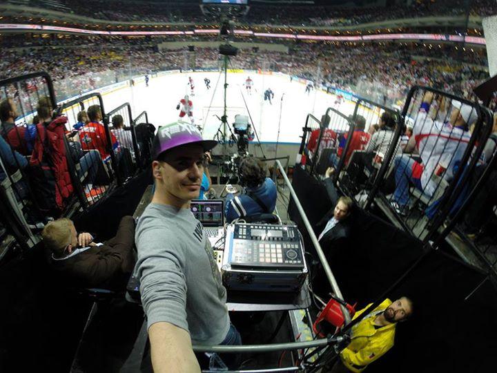 Mistrovství světa v ledním hokeji obohatil i Dj Roxtar
