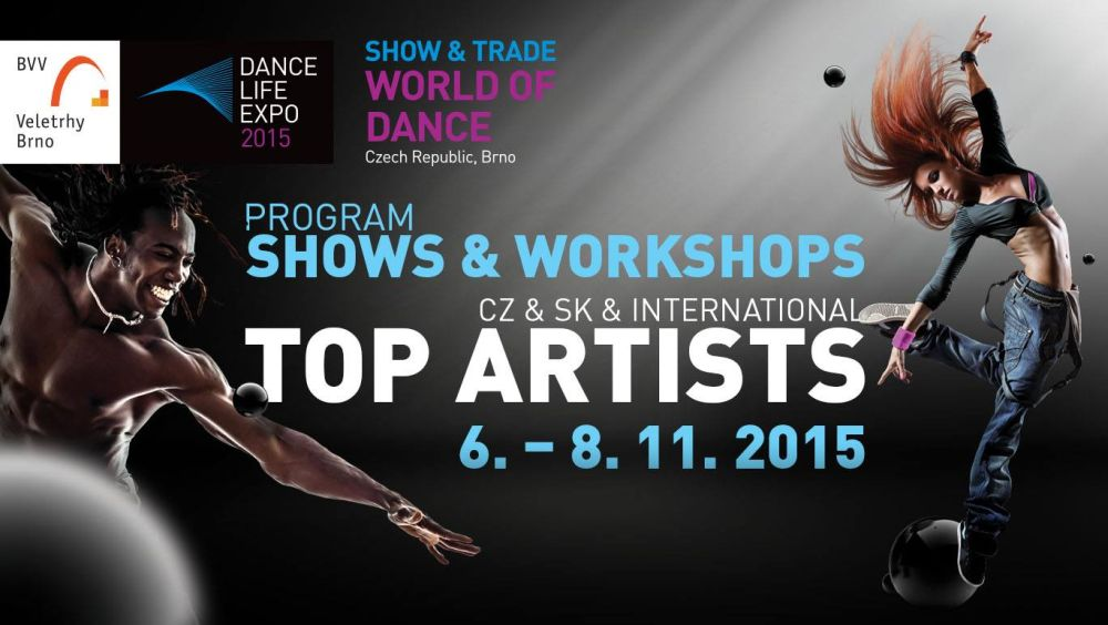 Třídenní taneční festival a veletrh Dance Life Expo 2015 odstartoval