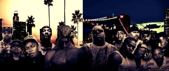 East Coast vs. West Coast: Kdo se podílel na pobřežní rapové válce?
