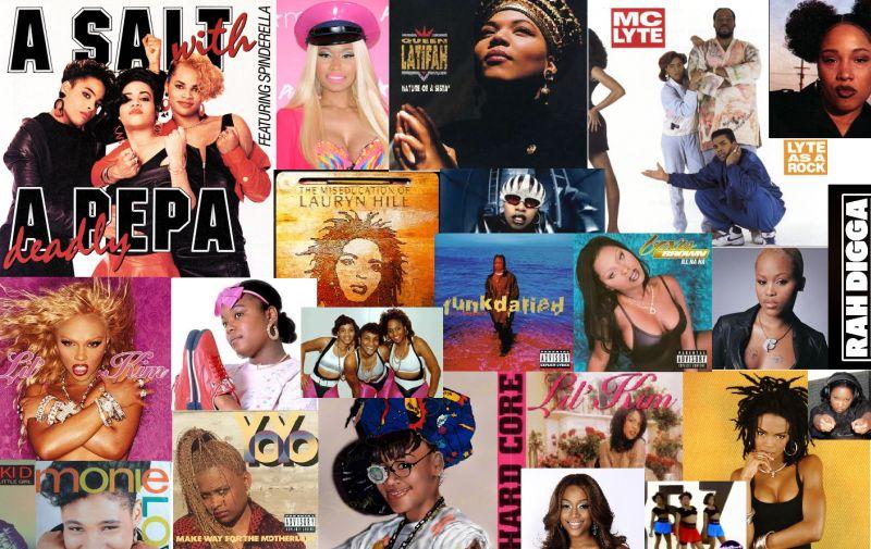 Female mc´s   ženy v hip hopu