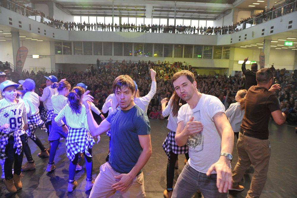 Flash Mob | Ondřej Sokol & Jiří Mádl | Dance Life Expo 2015
