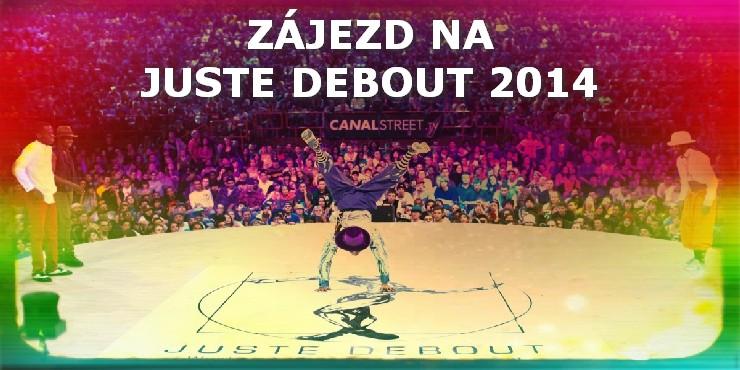 Poslední šance: Zájezd na Juste Debout jen do konce ledna