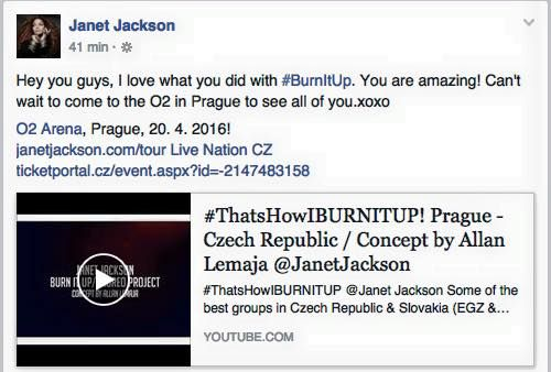 Janet Jackson @ Facebook