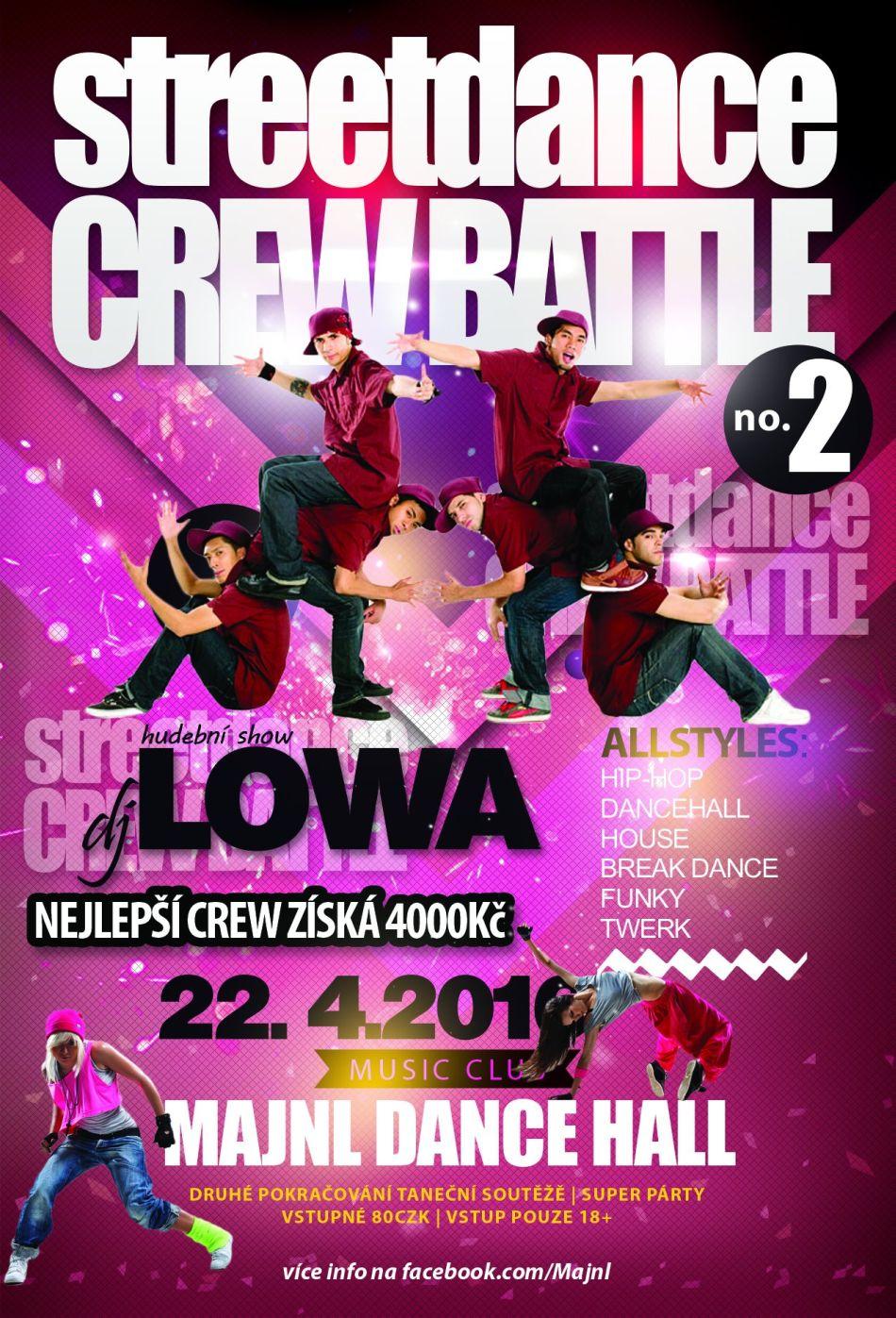 Streetdance Crew Battle no. 2 | Majnl Dance Hall