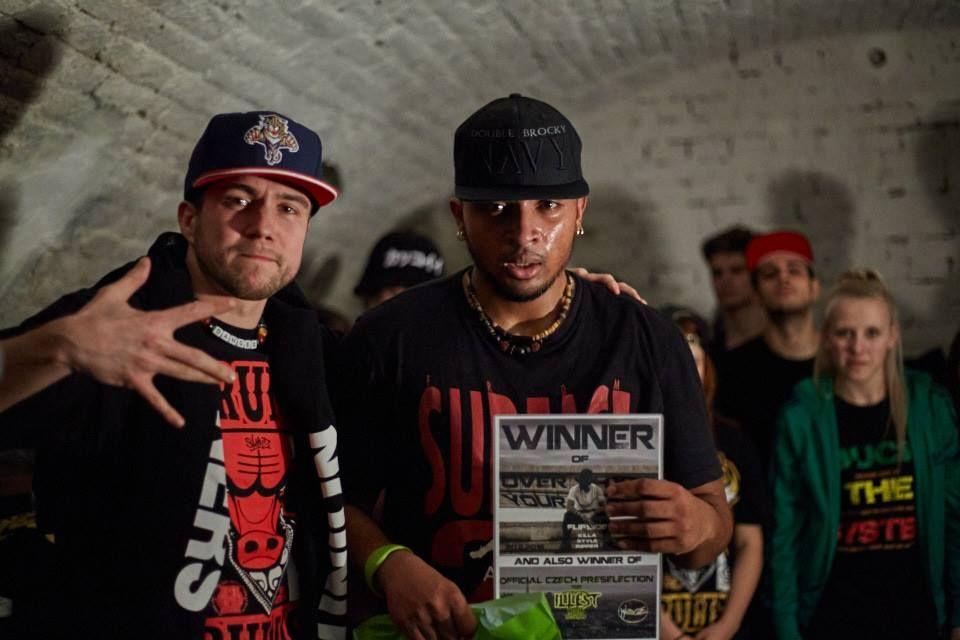Lil Flipside - vítěz Overhype Your City 5 (foto Ondřej Vibes)