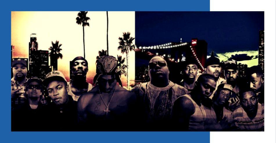East Coast vs. West Coast - Pobřežní rapová válka