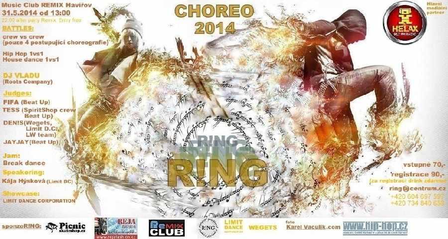 Crew battle R!ng Choreo 2014 se blíží