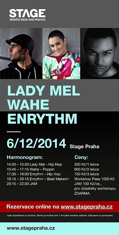 Lady Mel, Enrythm, Wahe Workshop