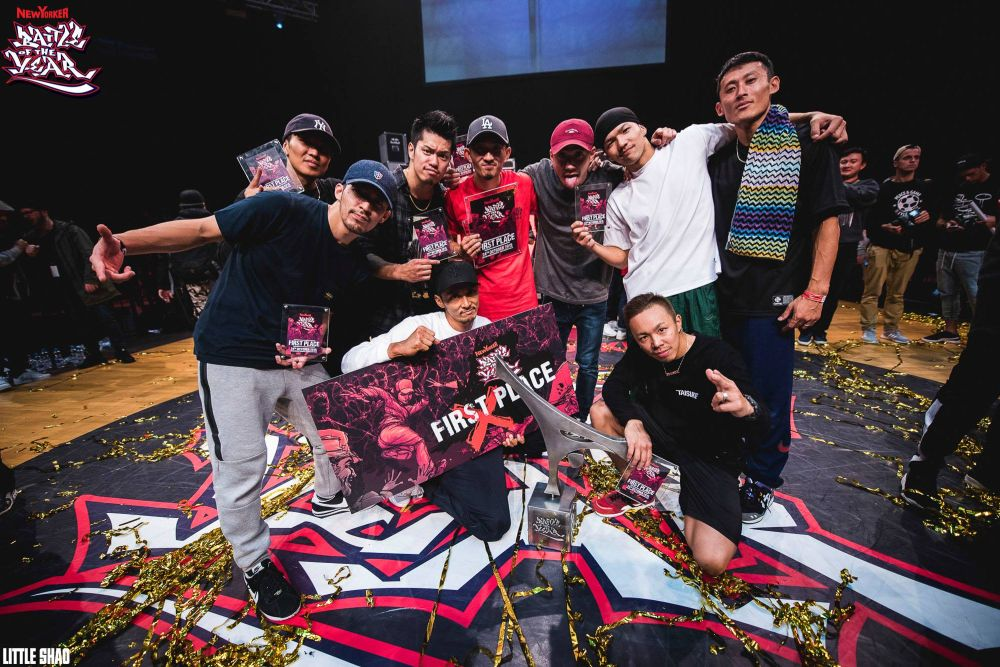 Battle Of The Year 2015 ovládli The Floorriorz z Japonska