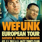 Wefunk European Tour 2011